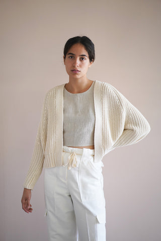 Relay Cardigan - Natural