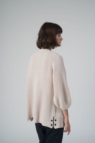 House Cardigan - Light Sand