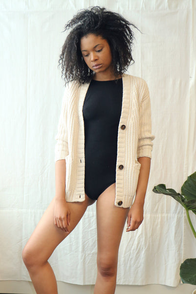 Elizabeth Cardigan - Light Sand
