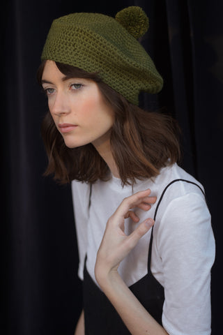 Lila Beret- Forest
