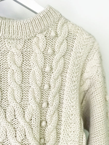 Hand Knit Cable