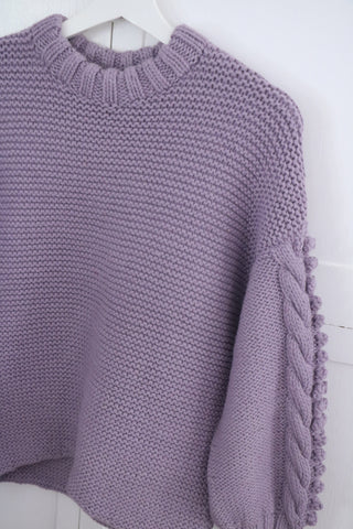 Bella Sweater- Thistle