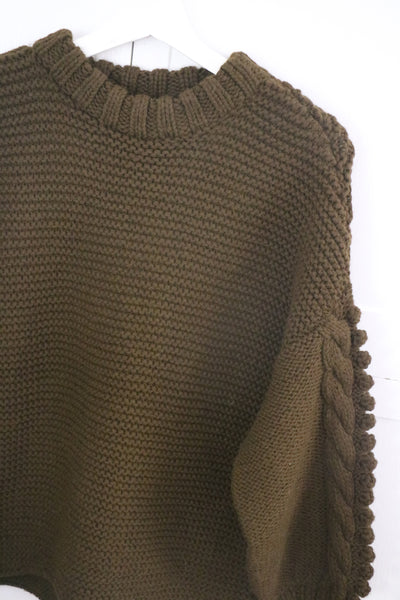Bella Sweater- Fern