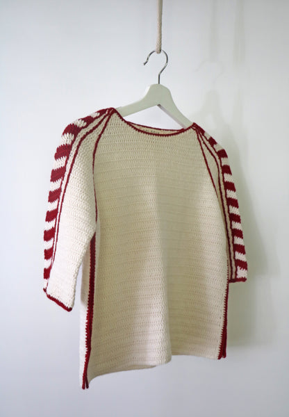 Crochet chevron tee