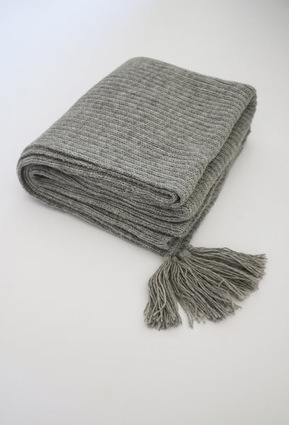 Cross-Country Scarf- Light Grey