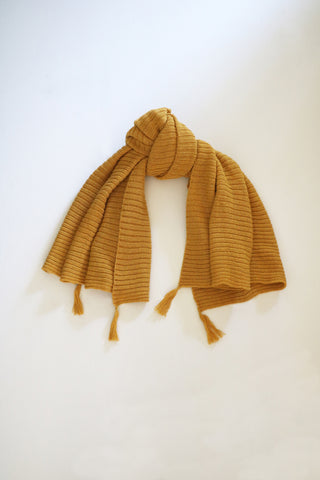 Cross-Country Scarf- Mustard