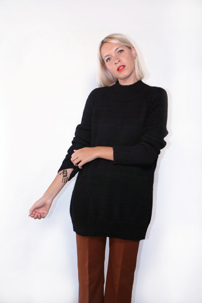 Numero Uno Sweater- Black