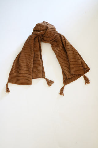 Cross-Country Scarf- Tan