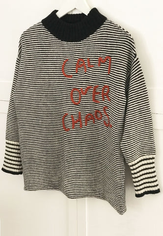 Calm Over Chaos Sweater