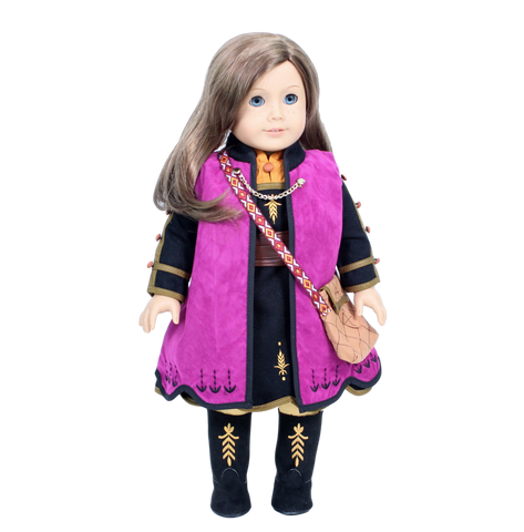 Anna Frozen 2 Outfit with Boots