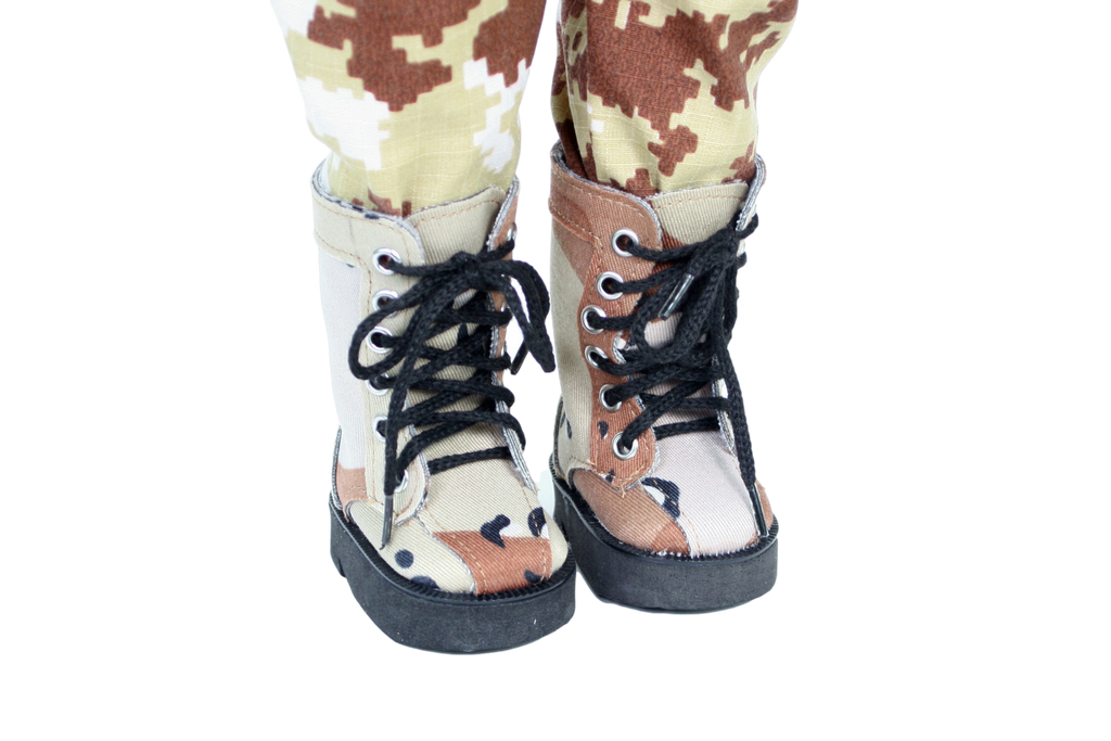 Army Camouflage Boots