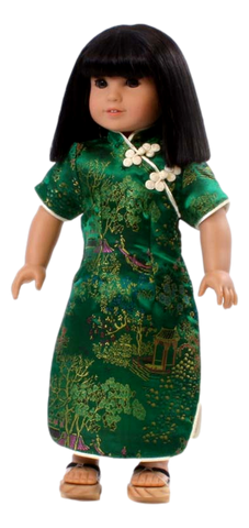 Green Asian Dress