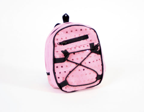 Backpack Pink Sequins