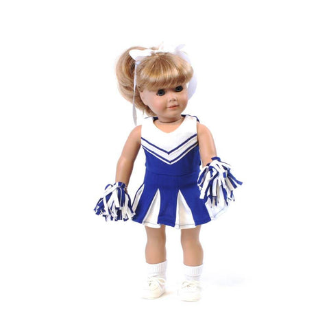 Royal Blue Cheerleader Outfit