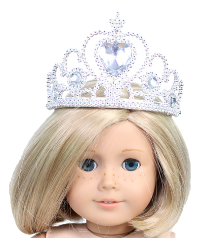 Princess Crown with Crystal Gemstones