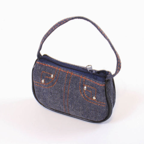 Dark Denim Purse
