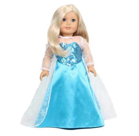 Elsa Frozen 1 Gown