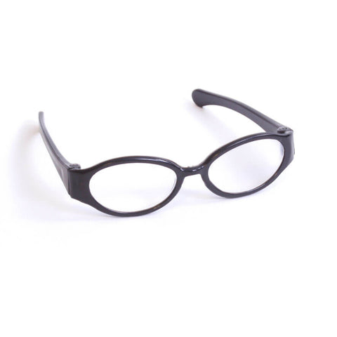 Black Plastic Frame Glasses
