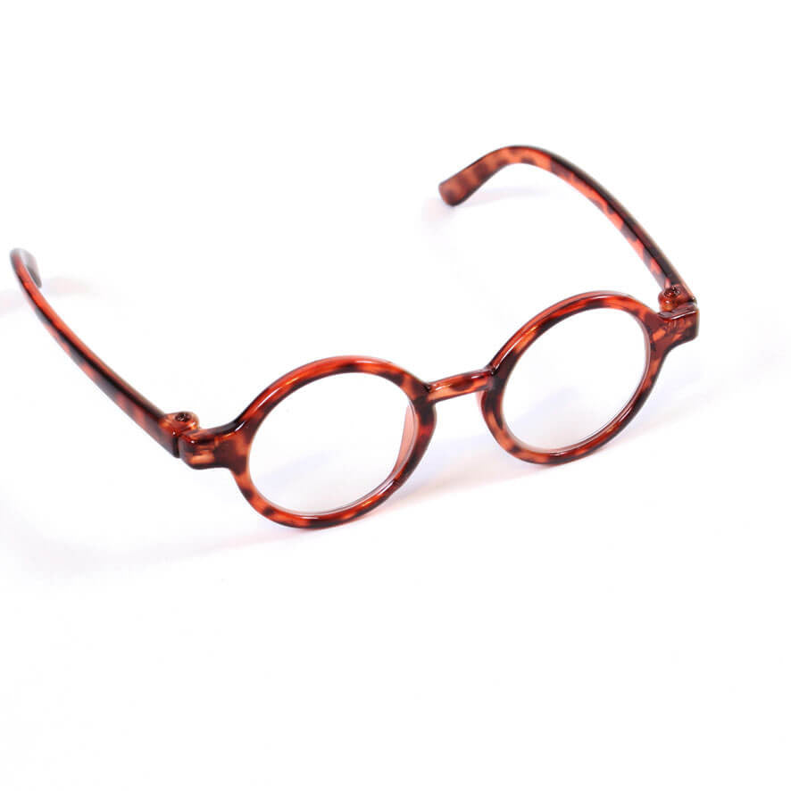 f0c95384af5 Round Tortoise Shell Glasses for 18 Inch American Girl Doll Clothes –  EverEighteen