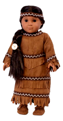 Brown Indian Outfit