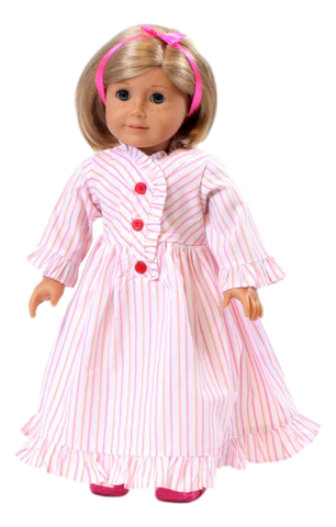 Kit's Striped Nightie