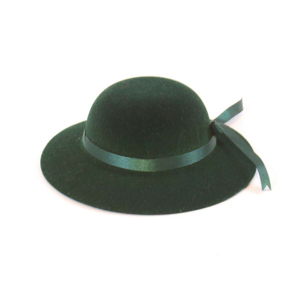 Lady's Green Hat