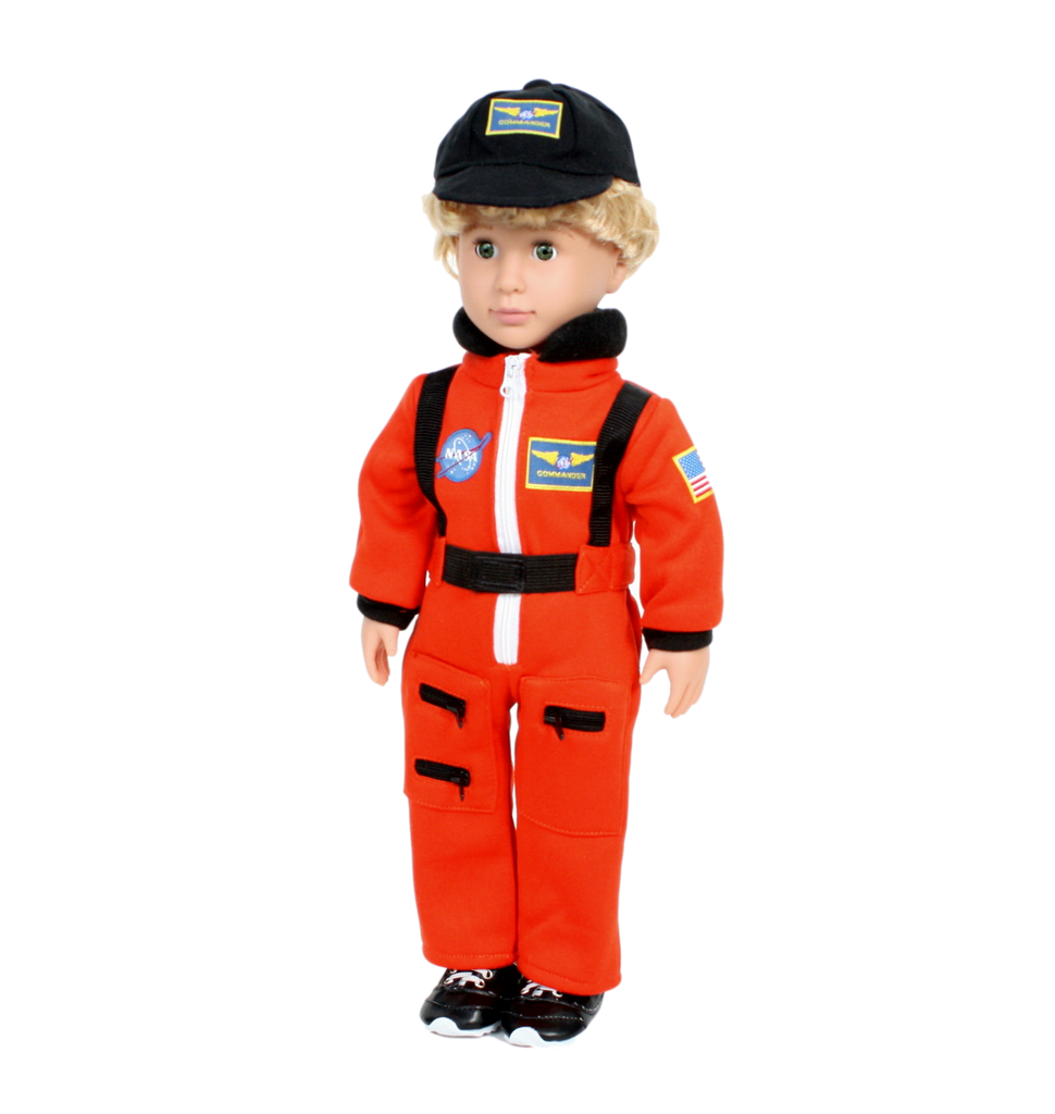 NASA Orange Astronaut Suit