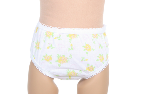 Yellow Rose Panties
