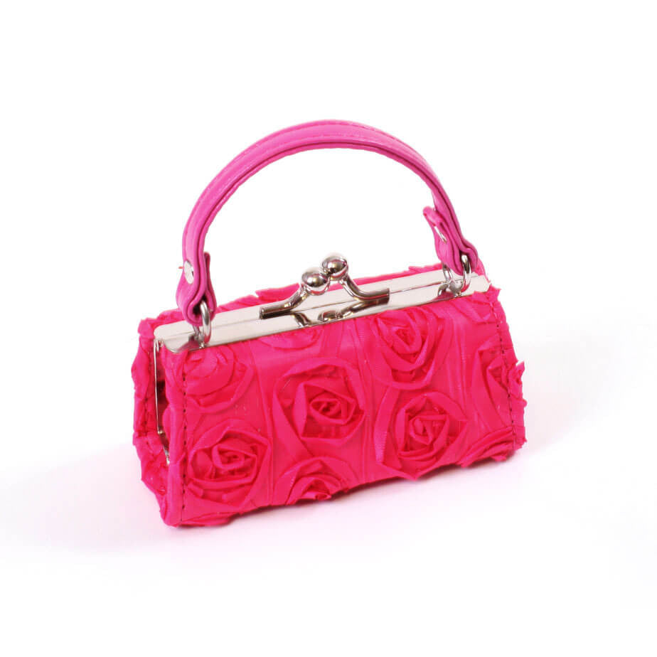 Hot Pink Roses Purse