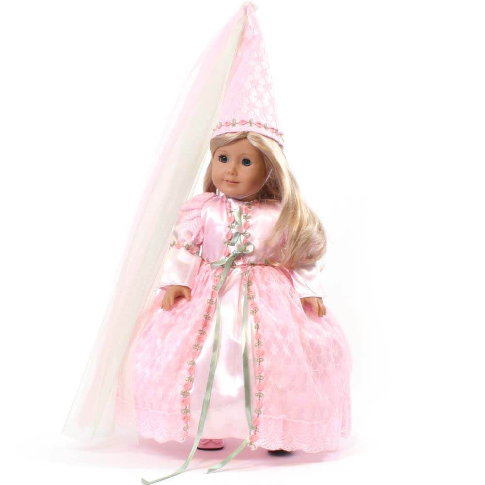 Rapunzel Princess Dress & Hat