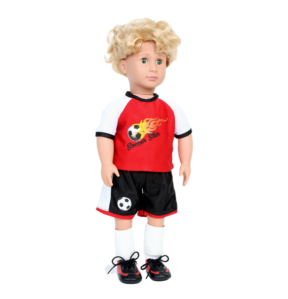 Red Soccer Star Outfit