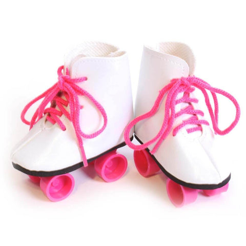 Roller Skates w/ Hot Pink Laces