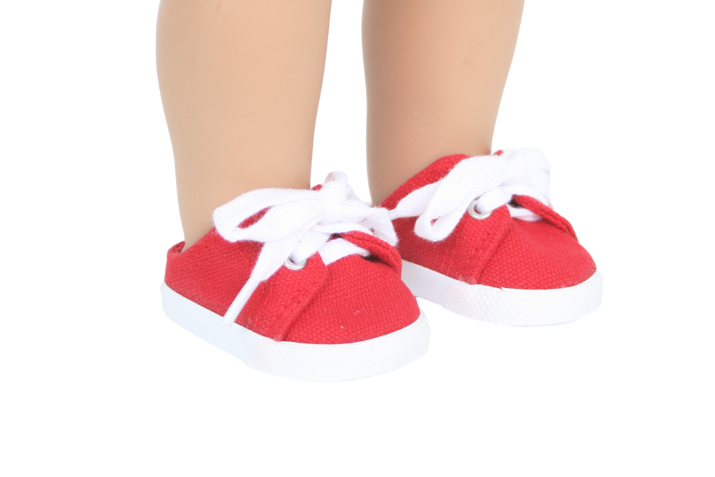 Slip-on Red Sneakers