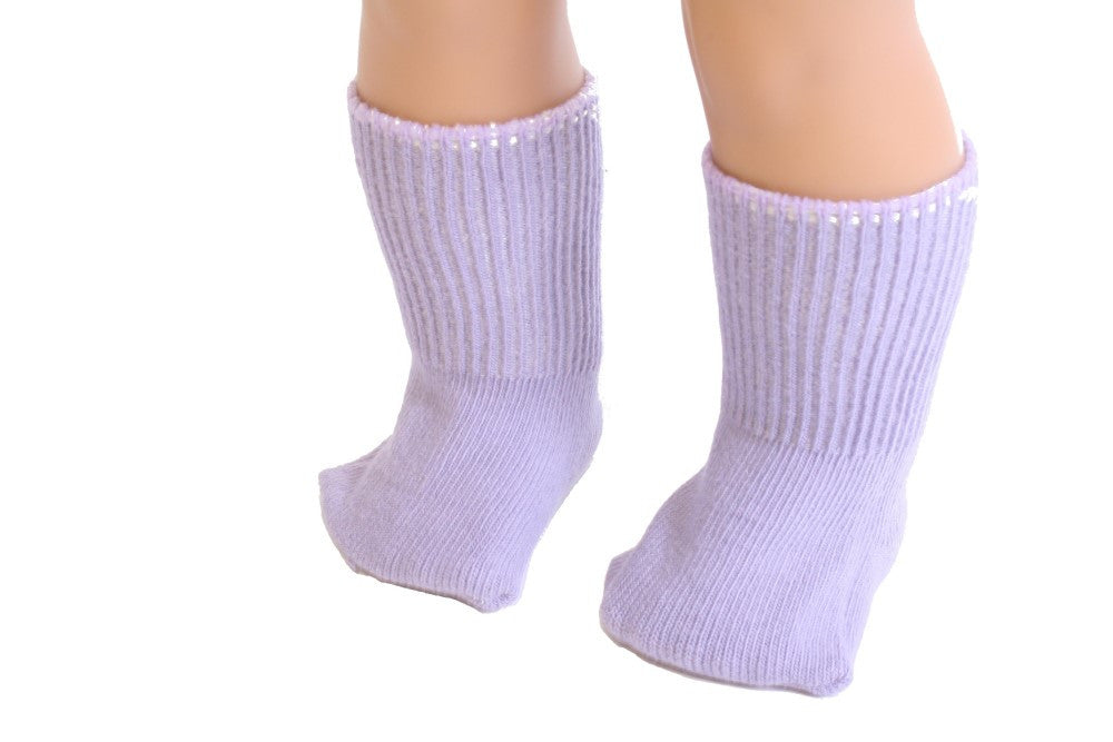 Lavender color Socks
