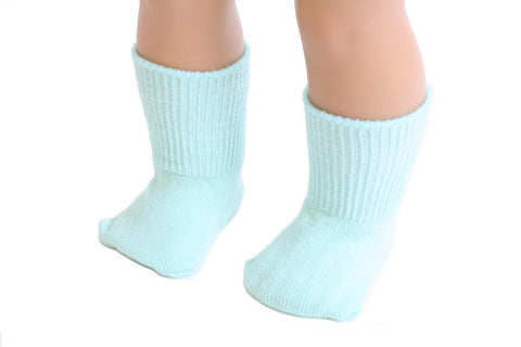 Mint color Socks