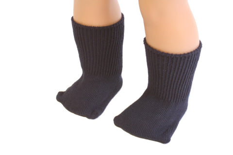 Navy color Socks