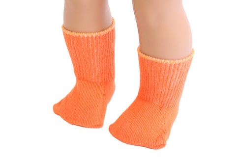 Orange color Socks