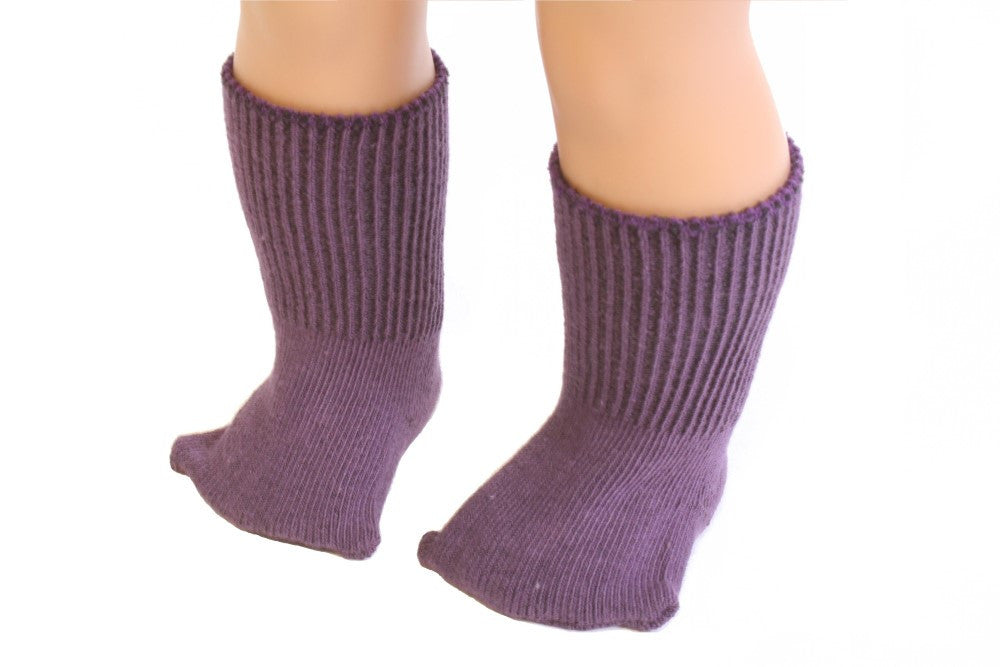 Purple color Socks