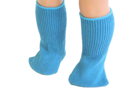 Turquoise color Socks