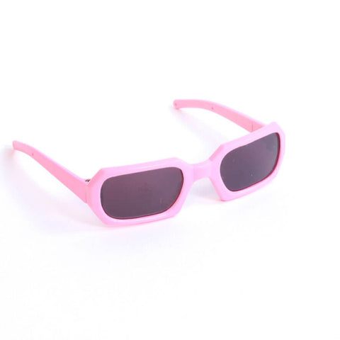 Pink Rectangle Sunglasses
