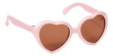 Light Pink Heart Shaped Sunglasses