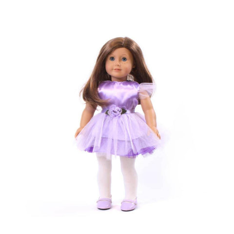 Purple 'Sweet Tutu' Dress