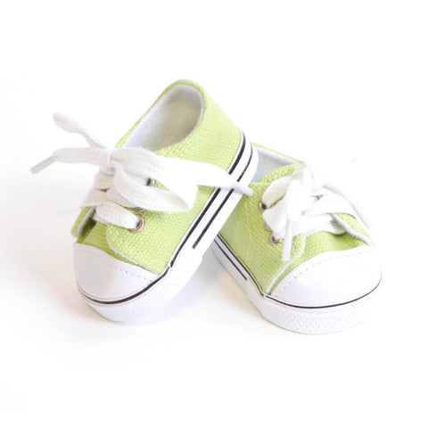 Lime Green Tennis Shoe