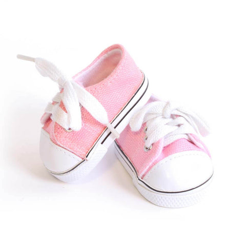 Light Pink Tennis Shoe