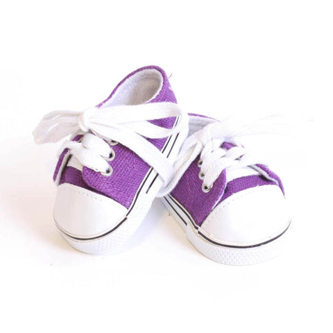 Purple Tennis Shoe