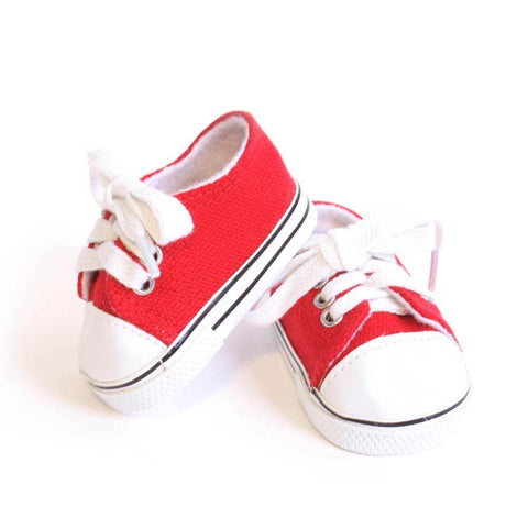 Red Tennis Shoe