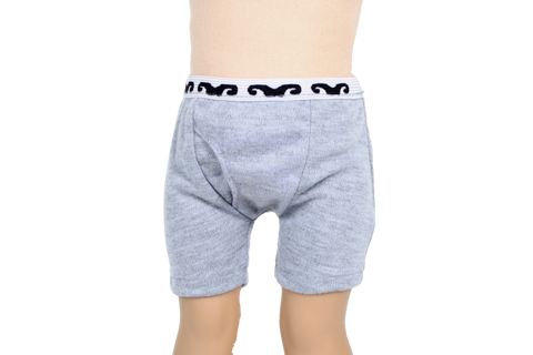 Gray Boys Knit Underwear