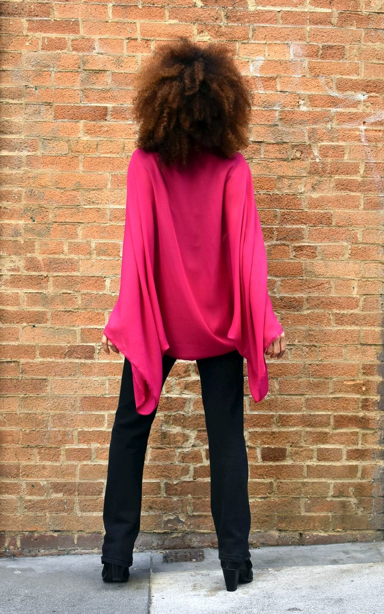 Black Raspberry Instaglam Shrug