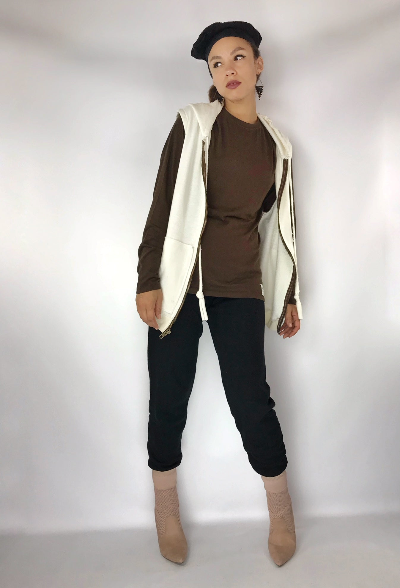 Mod Joggers of Hemp Fleece