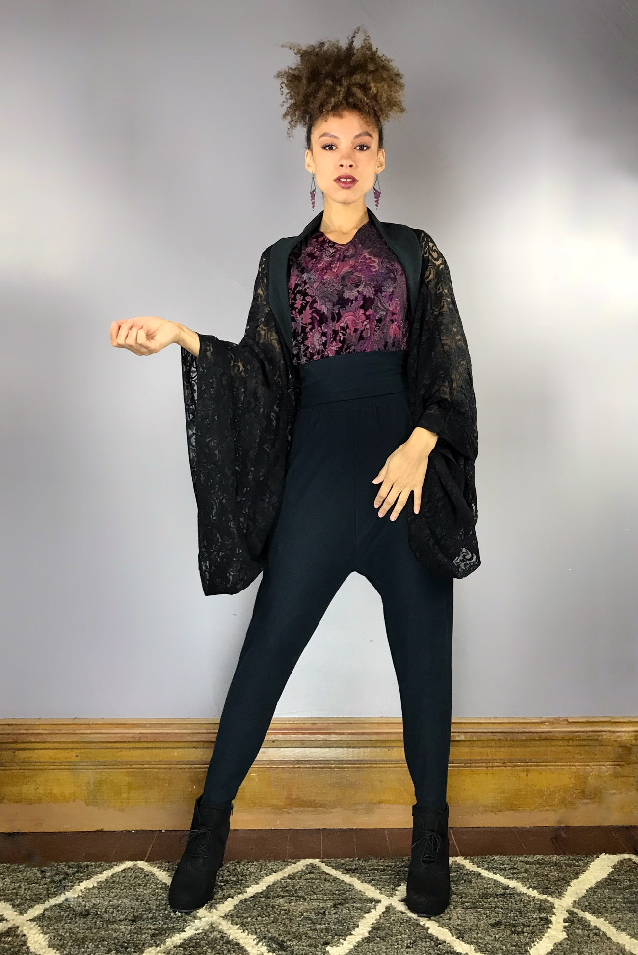 Black Lace InstaGlam Shrug